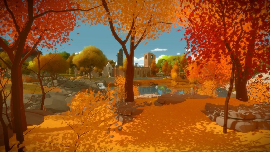puzzles in The Witness