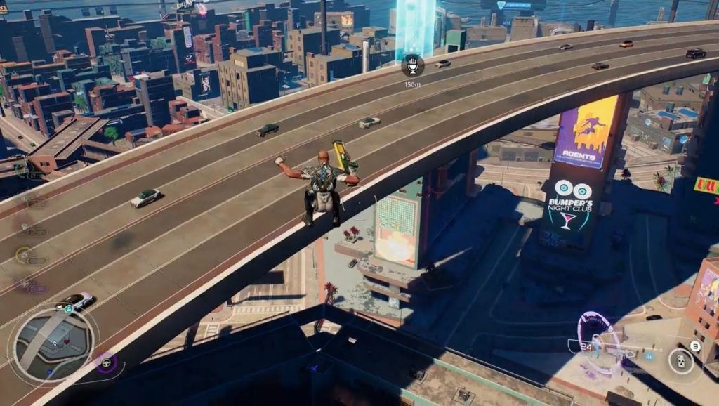The gameplay of Crackdown 3