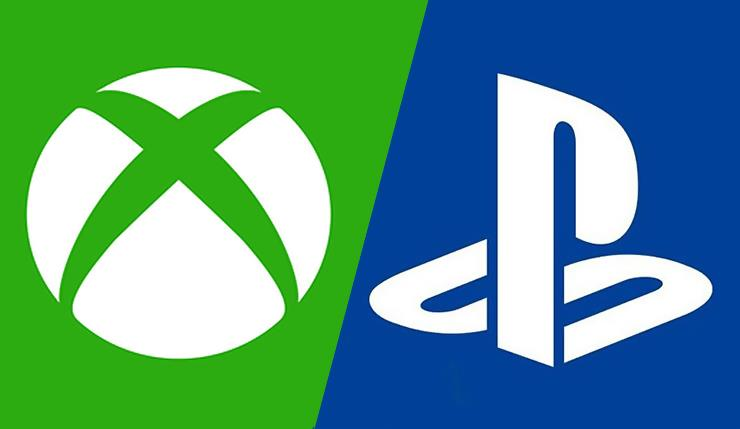 Sony Playstation and Microsoft Xbox